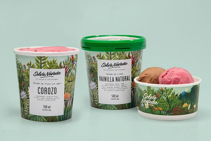 Biodiversity Ice Cream Branding