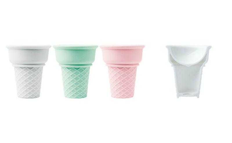Porcelain Ice Cream Cups
