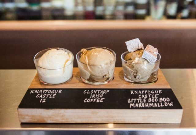 Boozy Ice Cream Flights