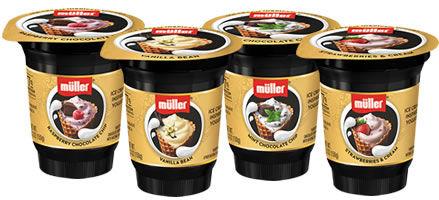 Ice Cream-Inspired Yogurt