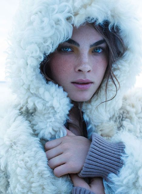 Wondrous Wintertime Editorials