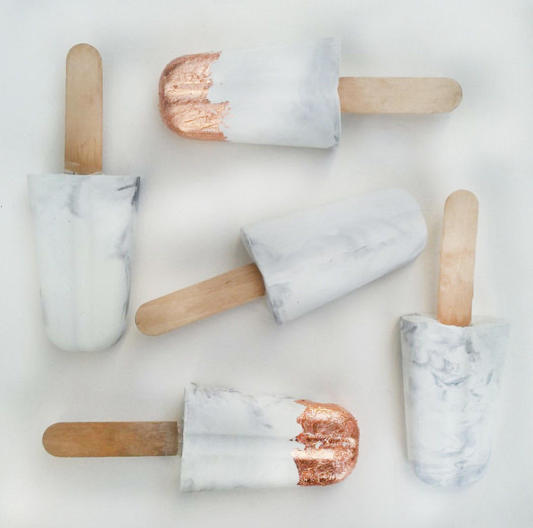 Decorative Concrete Popsicles