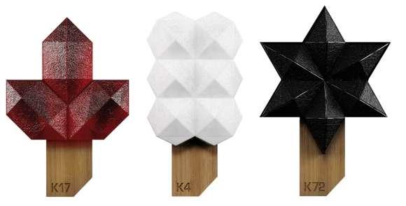 Futuristic Molecular Popsicles