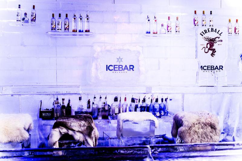Frozen Cocktail Lounges