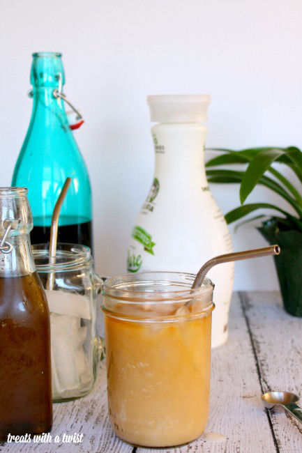 Floral Iced Coffee Blends