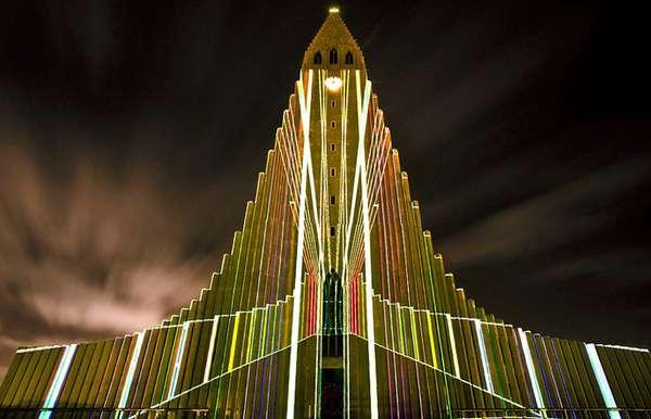 Shimmering Sacred Sanctuaries