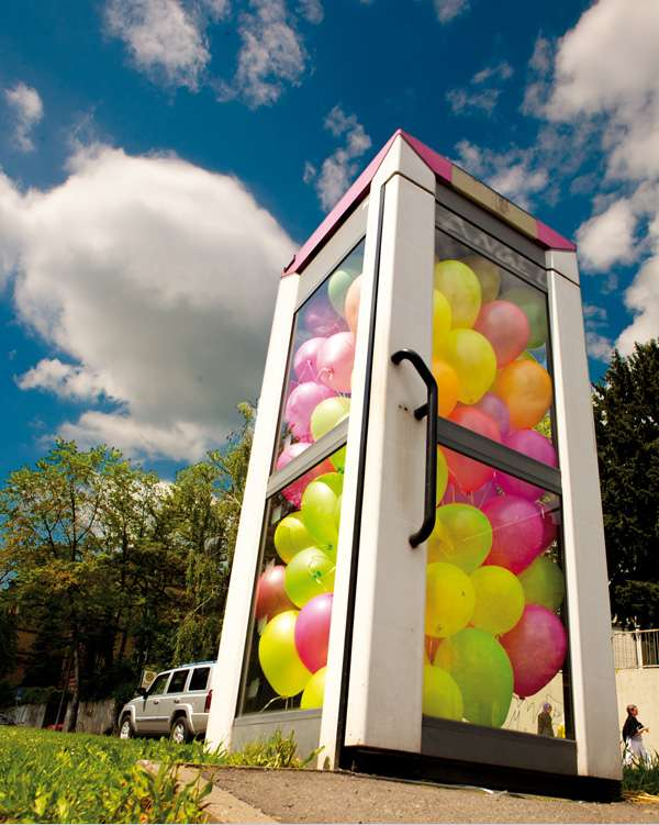 Bubbly Phone Booths