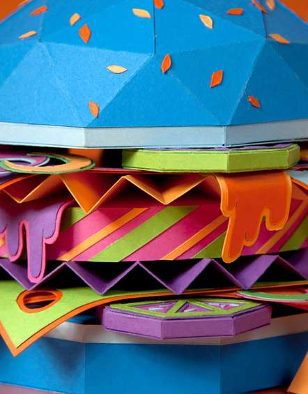 Chromatic Paper Patties