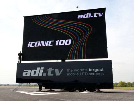 Enormous Portable LED TVs