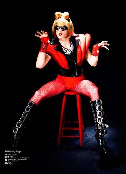 Transgendered Gaga Transformations