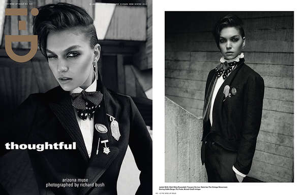 Stormy Androgynous Editorials