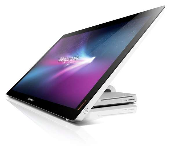 Flattened Multi-Touch Displays