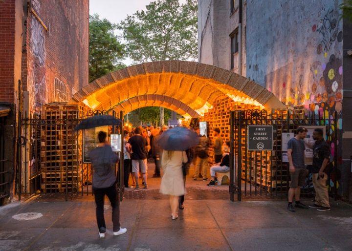 Upcycled Carton Pavilions