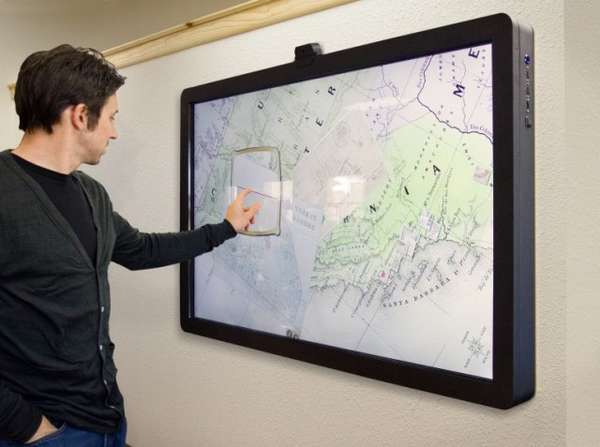 Wall-Mounted Super Tablets