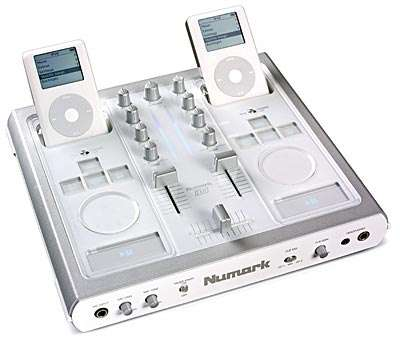 iDJ iPod Music Mixing MP3 Console