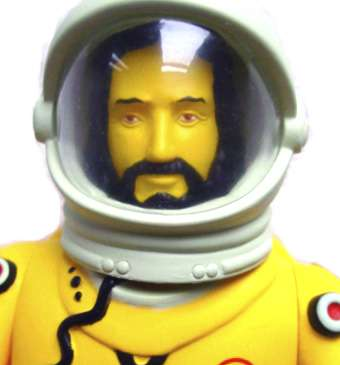 Jesus Astronaut Figure is Taking Off