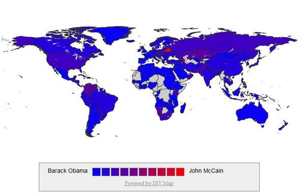 Global Presidential Voting