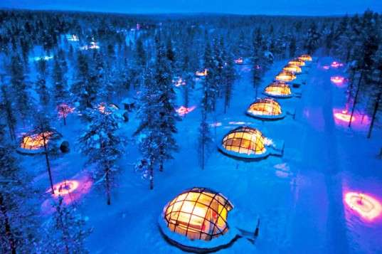 Igloo Village at the Hotel Kakslauttanen