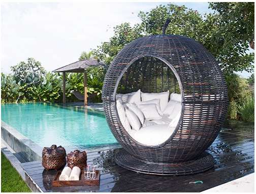 Eco-Friendly Wicker Comfort