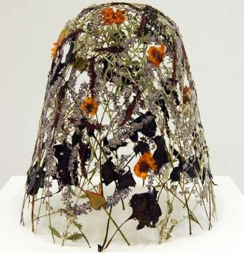 Weaved Flower Sculptures
