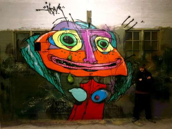 Grotesquely Groovy Street Art
