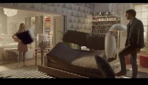 Dramatized Furniture Ads