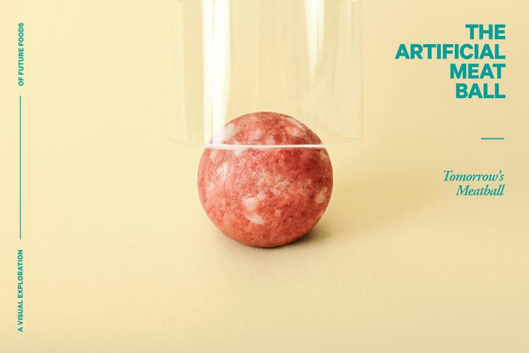 Futuristic Meatball Photography
