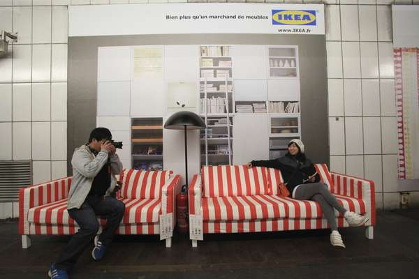 Ikea Paris Metro