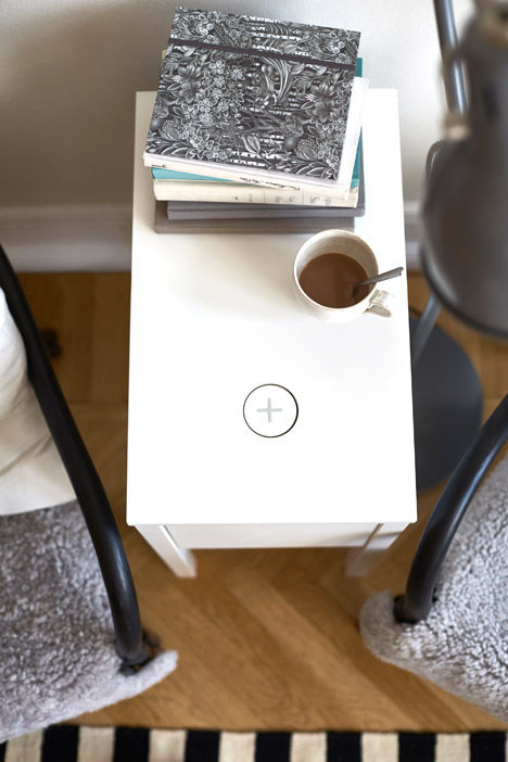Phone-Charging End Tables