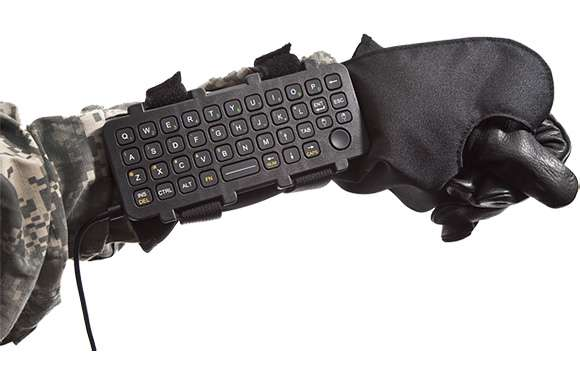 Wrist-Worn Keyboards