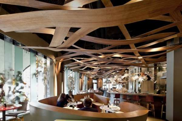 Woven Wood Ceilings