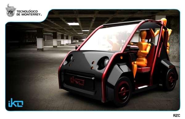 Sleek Electric Carts