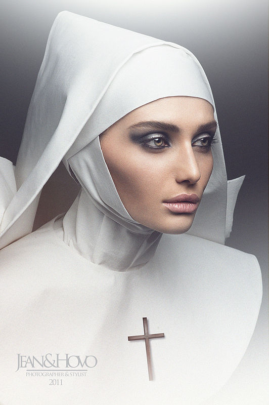 High-Fashion Nun Photography