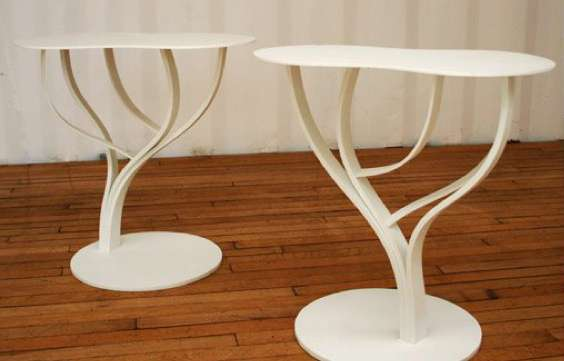 Bleached Bough End Tables