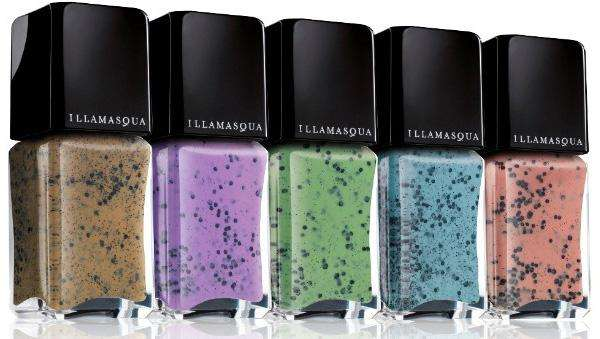Speckled Nail Varnishes