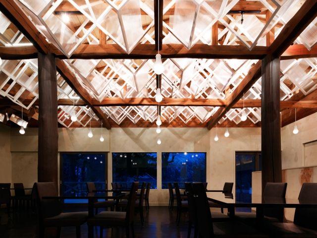 Illuminated Canopy Eateries