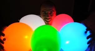 Illuminated Neon Party Balloons