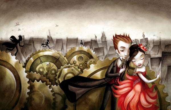 illustrations by benjamin lacombe