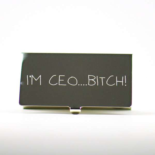 I'm CEO Bitch! Card Case