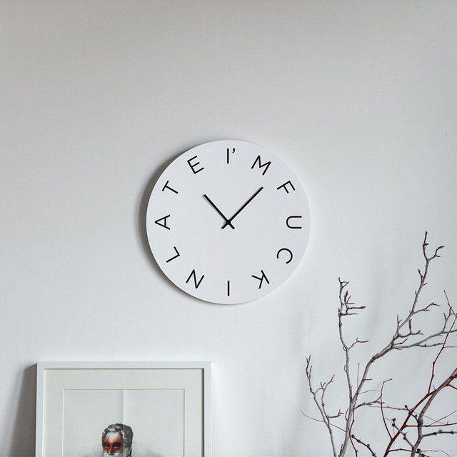 Inappropriate Cursing Clocks