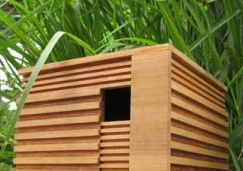 Modernist Bird Abodes