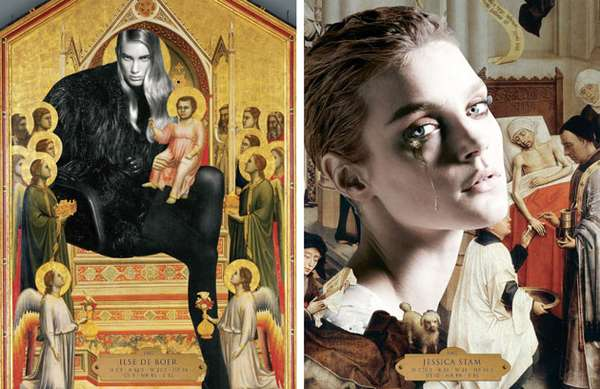 Iconically Collaged Catalogs