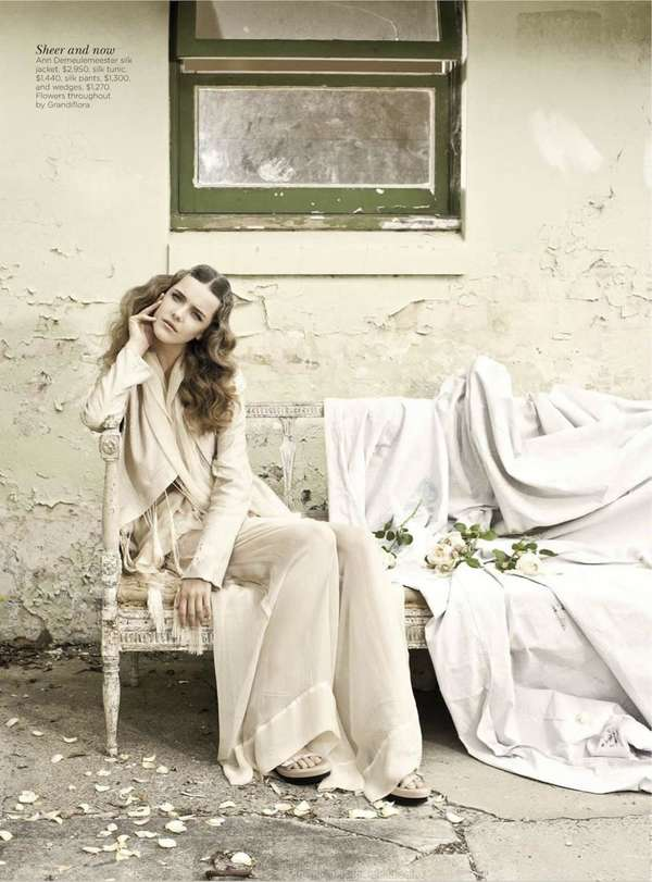 Ethereal Ivory Editorials