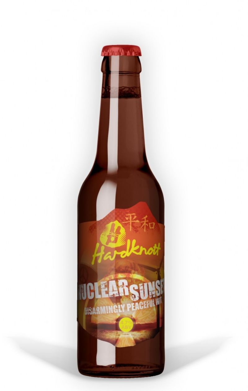 Atomic Bomb-Themed Beers