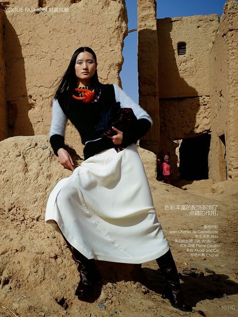 Modern Moroccan Fashion Editorials