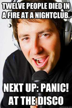 Insensitive Music Host Memes