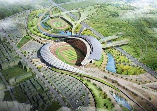 Spiraling Stadiums