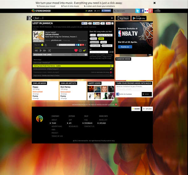 Mood Music Site Revamps (UPDATE)