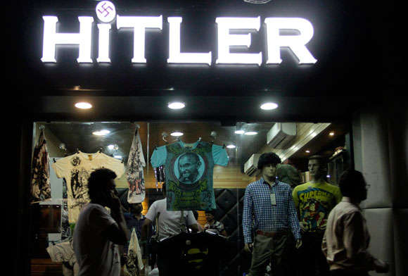 india clothing store called hitler