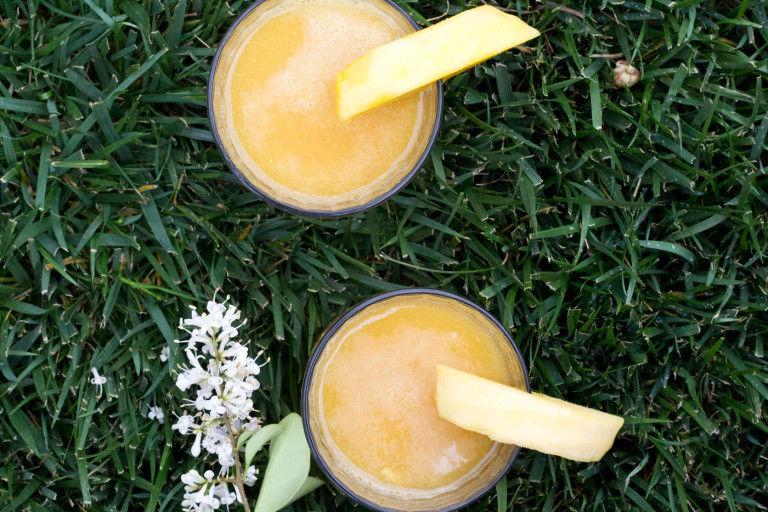 Indian Mango Iced Teas